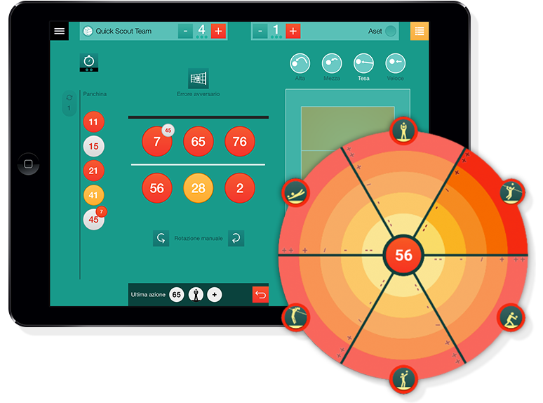 Quick Scout Volley - Watch and Improve - Android App